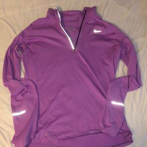 Nike quarter zip soft pullover long sleeve